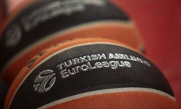 Το πανόραμα της Euroleague: Στη 15η θέση ο Ολυμπιακός, 7ος ο Παναθηναϊκός