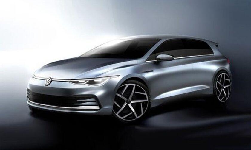Τα επίσημα σκίτσα της 8ης γενιάς του VW Golf