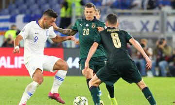 Ιταλία-Ελλάδα: Το πέναλτι που έκανε ο Μπουχαλάκης και το γκολ του Ζορζίνιο για το 1-0 (vid)