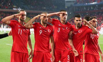 UEFA: Υπό εξέταση ο στρατιωτικός χαιρετισμός της Τουρκίας