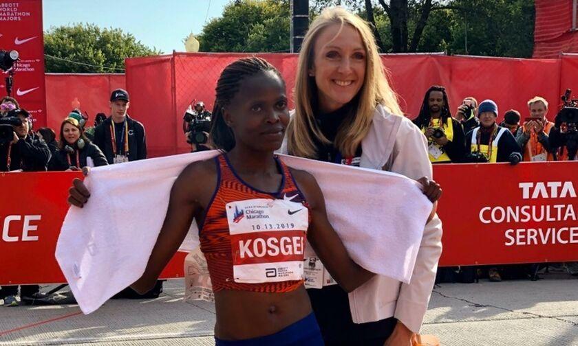 Η Κοσγκέι έκανε παγκόσμιο ρεκόρ στον Μαραθώνιο,  στο Σικάγο!