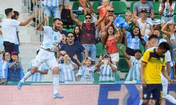 Εκουαδόρ - Αργεντινή 1-6: Κι όμως τσακώθηκαν οι Λαουτάρο, Παρέδες (vid)