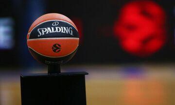 Euroleague: Αφαιρέθηκαν τα αυτοκόλλητα από τα παρκέ (pic)