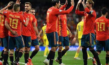 Κερδίζει στη Σουηδία η Ισπανία !