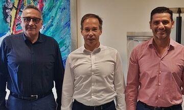 Συνάντηση με τον Γιώργο Μαυρωτά είχαν οι διοικητικοί ηγέτες της ΕΛΟΤ