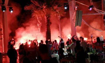 """Παρουσία Φορτούνη τα 20 χρόνια του συνδέσμου του Ολυμπιακού στην Κύπρο """"LARNAKA REDS 7"""""""