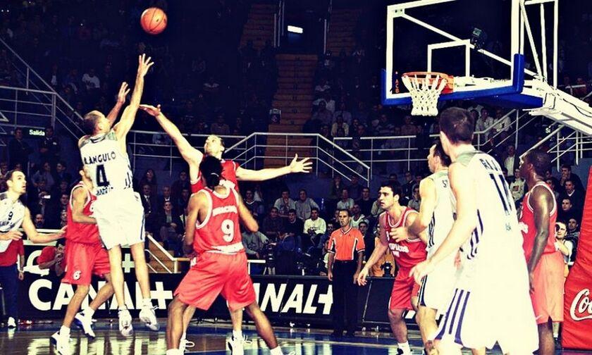 Ρεάλ - Ολυμπιακός: Το πρώτο ματς στην ιστορία της EuroLeague (pic, vid)