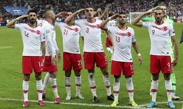 UEFA: Πειθαρχική έρευνα για τους στρατιωτικούς πανηγυρισμούς των Τούρκων