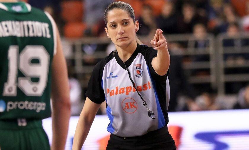 EuroLeague: Η Τσαρούχα πρώτη Ελληνίδα διαιτητής της διοργάνωσης