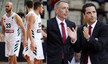 EuroLeague: Στο ΟΑΚΑ ο Παναθηναϊκός, Σφαιρόπουλος vs Τόμιτς