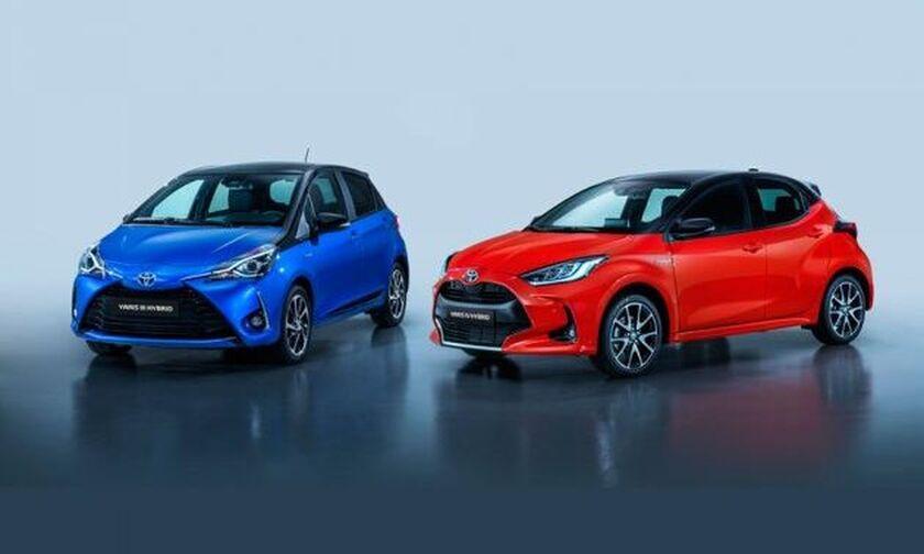Σύγκριση: Νέο Toyota Yaris vs υπάρχον Yaris
