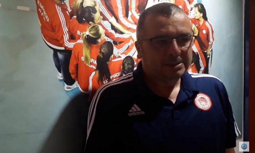 Κοβάτσεβιτς: «Πλεονέκτημα για εμάς πως δεν κάναμε πολλές αλλαγές» (vid)