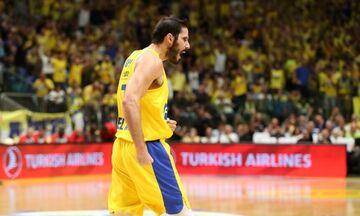 Μακάμπι - Ερυθρός Αστέρας 84-69: Ο Σφαιρόπουλος κέρδισε τον Τόμιτς (vid)