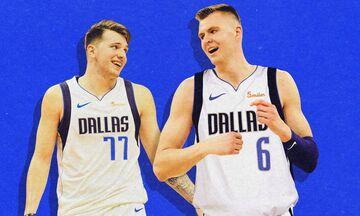 NBA: Έλαμψαν Ντόνσιτς και Πορζίνγκις στην νίκη των Μάβερικς! (vid)