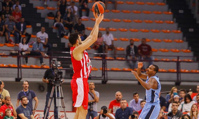 Ολυμπιακός-Ζενίτ: Το τρίποντο του Πανανικολάου που έστειλε το ματς στην παράταση (vid)