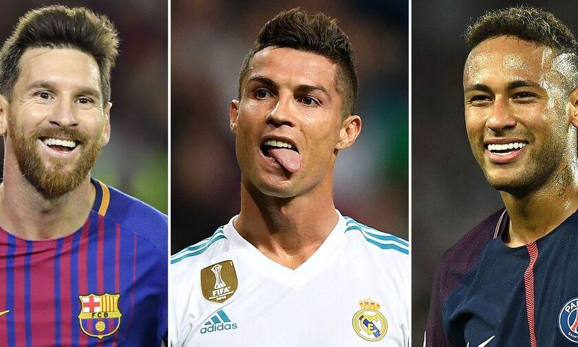 Μέσι: «Κάποιοι δεν θέλουν τον Νεϊμάρ στην Μπαρτσελόνα, ο Ρονάλντο ανέβαζε την αξία της La Liga»