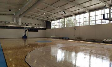 Πειραιάς: Παρέλαβε το ανακαινισμένο κλειστό γήπεδο μπάσκετ Καμινίων (pics)