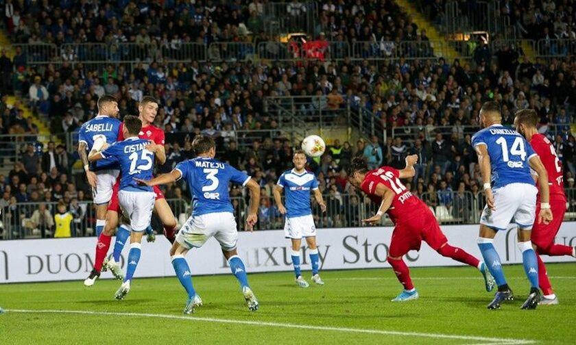 Serie A: Λευκή ισοπαλία για Μπρέσια και Φιορεντίνα (αποτελέσματα, βαθμολογία)