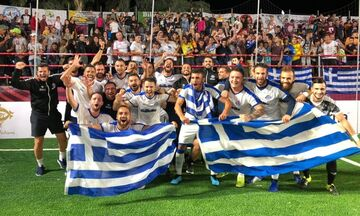 SOCCA World Cup 2019: Στα ημιτελικά η Ελλάδα, 4-3 την Αγγλία!