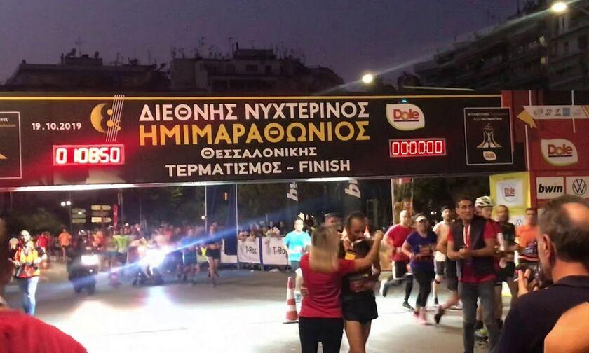 Γιορτή με 20.000 δρομείς ο «Νυχτερινός Ημιμαραθώνιος Θεσσαλονίκης