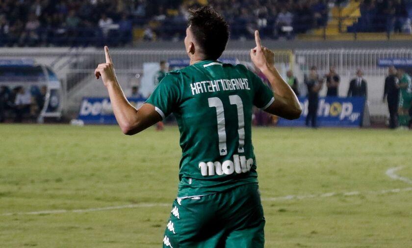 Ατρόμητος - Παναθηναϊκός 0-1: Με υπογραφή Χατζηγιοβάνη (highlights)
