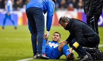 Ο Καρέλης τραυματίστηκε σοβαρά στο γόνατο