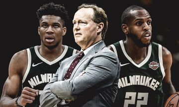 NBA: Δεύτερο φαβορί για τον τίτλο οι Μπακς σύμφωνα με το ESPN!