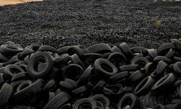 Τι γίνονται τα άχρηστα ελαστικά των οχημάτων; (vid)