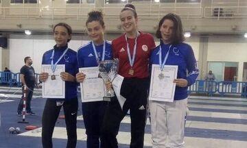 Ξιφασκία: Κυπελλούχος Νέων Γυναικών η Κωνσταντακοπούλου του Ολυμπιακού!