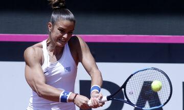 WTA Elite Trophy: Ηττήθηκε η Σάκκαρη