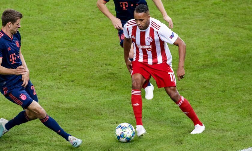 Ολυμπιακός - Μπάγερν: Το γκολ του Ελ Αραμπί για το 1-0 (vid)