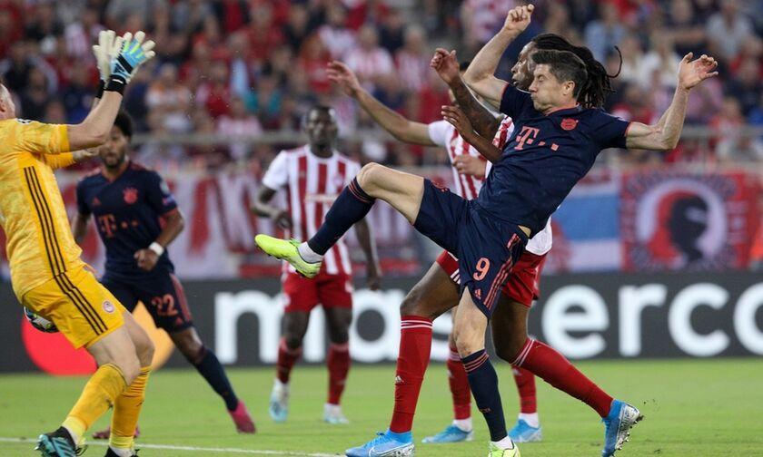 Ολυμπιακός - Μπάγερν: Το γκολ του Τολισό για το 1-3 (vid)