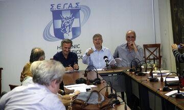 ΣΕΓΑΣ: Συνάντηση ομοσπονδιακών προπονητών με Παναγόπουλο, Σεβαστή