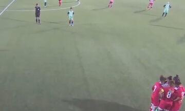 Αυτό είναι το συγκλονιστικότερο video που θα δεις σε ποδοσφαιρικό αγώνα γυναικών!