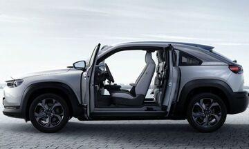 Νέο ηλεκτρικό Mazda MX-30 με πόρτες α λα RX-8!