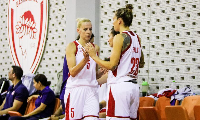 Ολυμπιακός: Αλλαγή έδρας για την γυναικεία ομάδα μπάσκετ