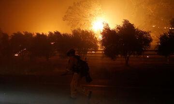 Καίγονται οι φημισμένοι αμπελώνες της Καλιφόρνια (pics)