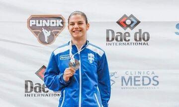 Καράτε: Ασημένιο μετάλλιο η Χρυσοπούλου στο παγκόσμιο Κορασίδων
