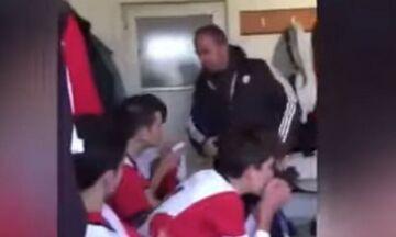 Τουρκία: Προπονητής ρίχνει χαστούκια στους παίκτες για να τους «πωρώσει» (vid)
