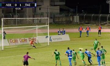 Λεβαδειακός-ΠΑΣ Γιάννενα 1-1: Γκολ και καυγάς Μάντζιου-Γιαννίκογλου (vid)