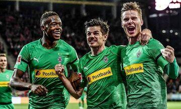 Bundesliga: Εντυπωσιακή Γκλάντμπαχ με «τεσσάρα» στην Άιντραχτ (αποτελέσματα, βαθμολογία, highlights)