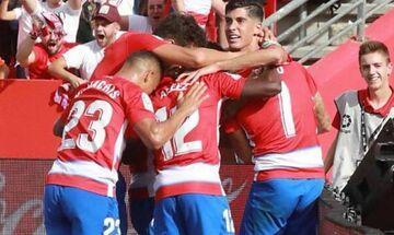 La Liga: Η Γρανάδα στην κορυφή! (highlights)
