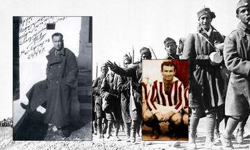 27/10/1940: Ο Νίκος Γόδας σκοράρει σε ένα από τελευταία ματς της ζωής του
