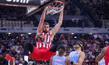 Ολυμπιακός: Ο Μιλουτίνοφ και χωρίς... γράμμωση είναι ο κορυφαίος παίκτης της EuroLeague!