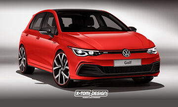 Έτσι θα μοιάζει το νέο VW Golf GTI