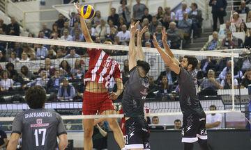 Volley League Ανδρών: Τη Δευτέρα (4/11) το ντέρμπι της πρεμιέρας ΠΑΟΚ - Ολυμπιακός