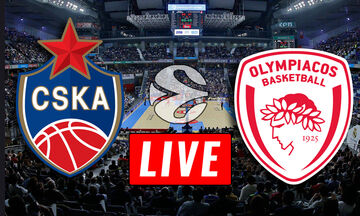 LIVE: ΤΣΣΚΑ Μόσχας - Ολυμπιακός (19:00)
