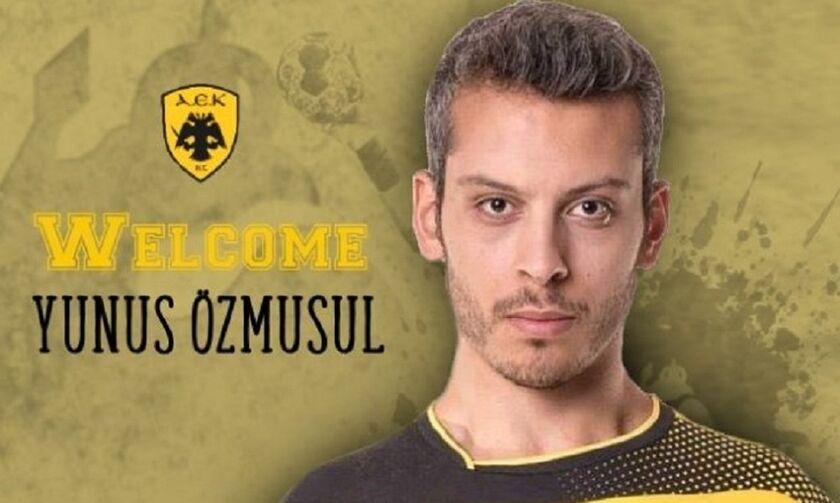 Ζήτησε συγγνώμη και μένει στην ΑΕΚ ο Τούρκος, Γιουνούς Οζμουσούλ
