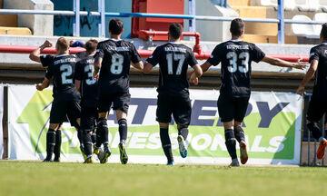 Καλαμάτα-ΑΕΛ 3-0: Προβάδισμα πρόκρισης για τη «Μαύρη Θύελλα» (vid)