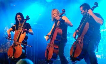 Οι Apocalyptica plays Metallica by four cellos στο Πειραιώς Αcademy
